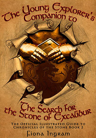 The Search For The Stone Of Excalibur Companion Guide by Fiona Ingram